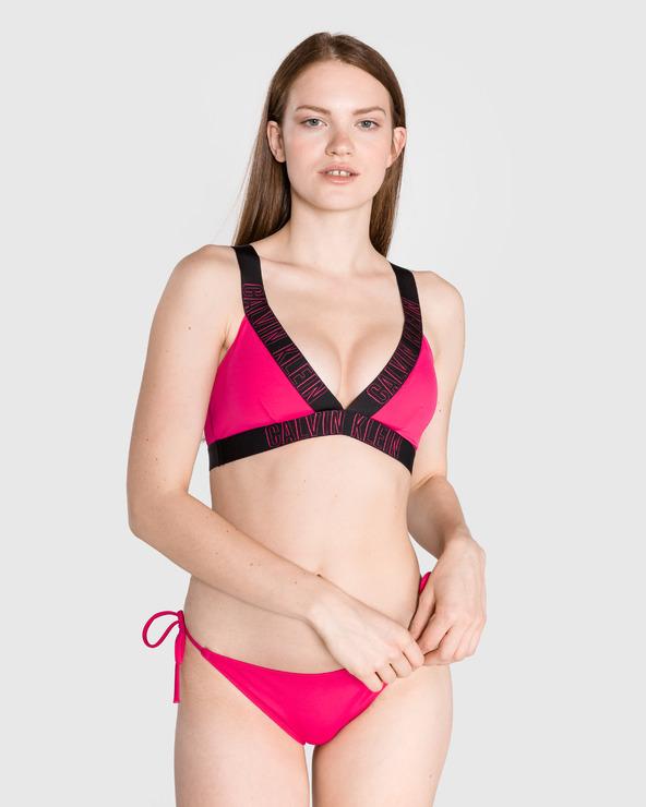 Calvin Klein Górna część stroju kąpielowego Różowy