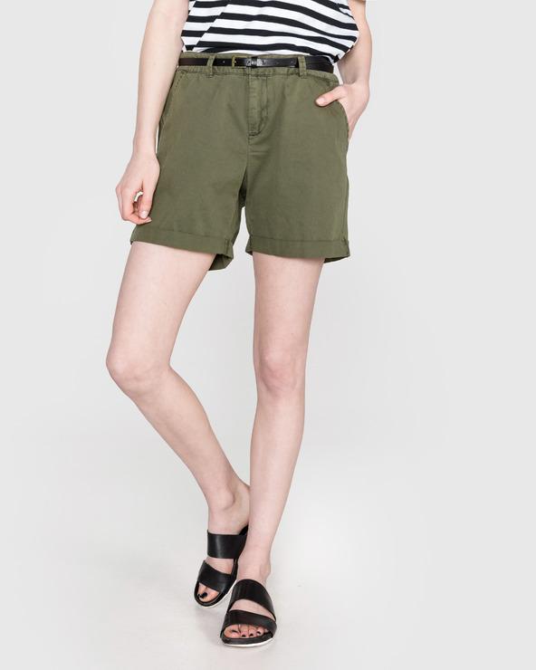Vero Moda Flash Szorty Zielony