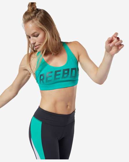 Reebok Hero Strappy Medium-Impact Podprsenka