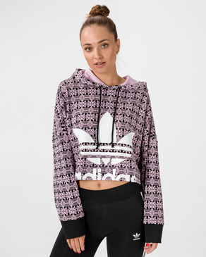 adidas Originals Trefoil Allover Crop top